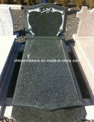 Latest Style Hassen Green Granite Single Monument for European Market
