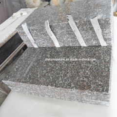 Popular New G635 Rosa Porrino Granite Floor Tile / Paving Tile