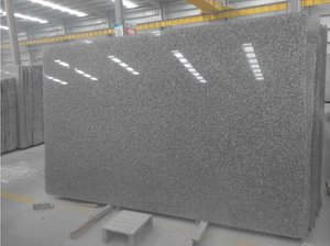 G664 Misty Brown Granite 5cm Thick Slab for Tombstone