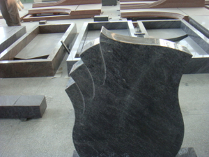 China Carving Stone Black Granite Monument (MRD2066)