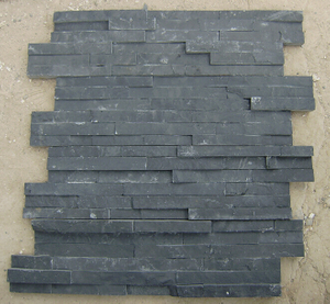 Natural Black/Yellow Cultural Slate for Roofing and Wall