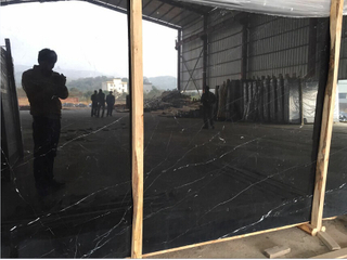 black marquina slab