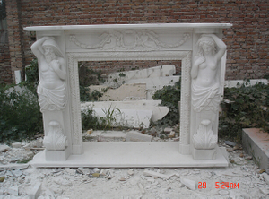 Customize Marble Stone Mantel for Various Style